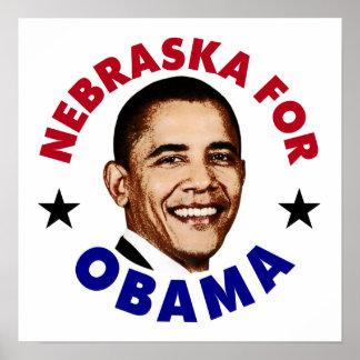 Nebraska For Obama Poster
