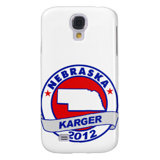 Nebraska Fred Karger Samsung Galaxy S4 Covers