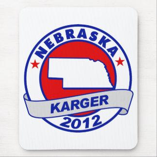 Nebraska Fred Karger Mouse Pad