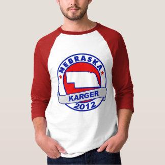 Nebraska Fred Karger T-Shirt
