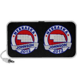 Nebraska Gary Johnson Mp3 Speakers