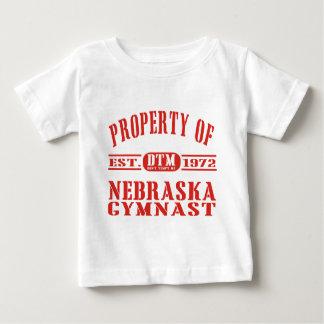 Nebraska Gymnast Baby T-Shirt