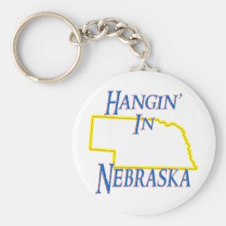 Nebraska - Hangin' Keychain