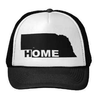 Nebraska Home Away From State Ball Cap Hat