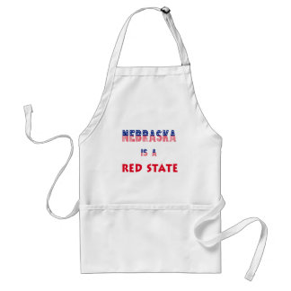 Nebraska is a Red State Apron