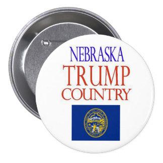 NEBRASKA is TRUMP COUNTRY Campaign Button