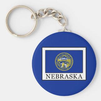 Nebraska Keychain