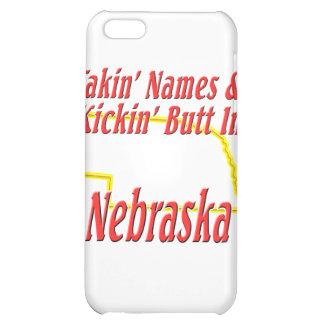 Nebraska - Kickin' Butt Cover For iPhone 5C