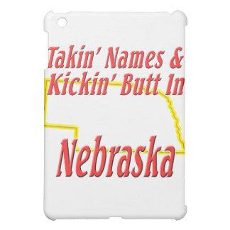 Nebraska - Kickin' Butt iPad Mini Cases