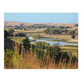 Nebraska Landscape Postcard