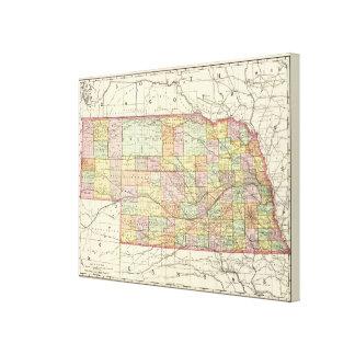 Nebraska Impresiones En Lona
