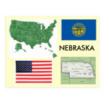 Nebraska, los E.E.U.U. Tarjetas Postales