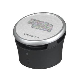 Nebraska map speaker