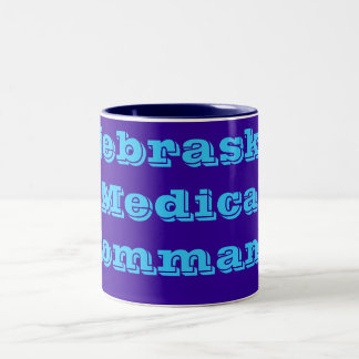 Nebraska Medical Command Two-Tone Coffee Mug