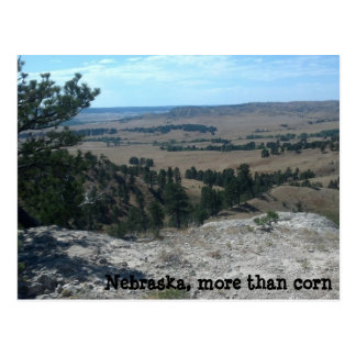Nebraska, more than corn postcard