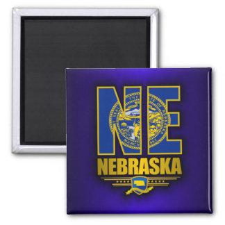 Nebraska (NE) 2 Inch Square Magnet
