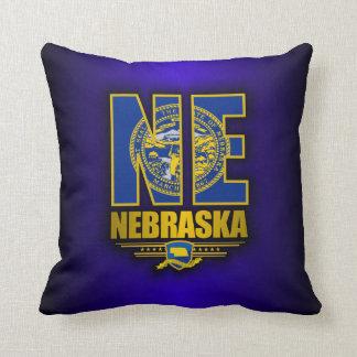 Nebraska (NE) Throw Pillow