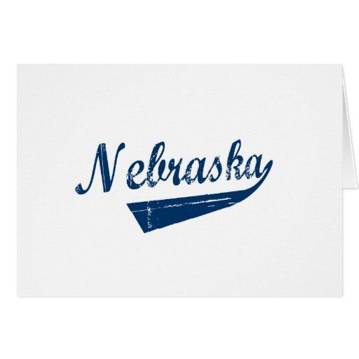 Nebraska New Revolution Greeting Card