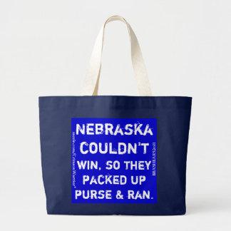 Nebraska no podría ganar, así que embalaron encima bolsa tela grande
