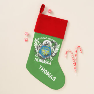 Nebraska Off Road Adventure 4x4 Trails Mudding Christmas Stocking