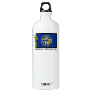 NEBRASKA OMAHA MISSION LDS CTR WATER BOTTLE