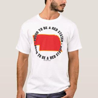 Nebraska: ¡Orgulloso ser una camiseta roja de