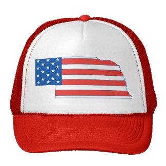 Nebraska Patriotic Hat
