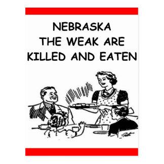 NEBRASKA POST CARDS