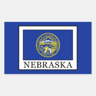 Nebraska Rectangular Sticker