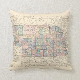 Nebraska Remembered Throw Pillow