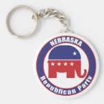 Nebraska Republican Party Key Chain