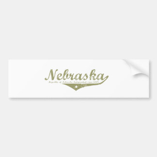 Nebraska Revolution T-shirts Bumper Sticker