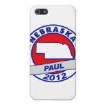 Nebraska Ron Paul iPhone 5 Carcasas