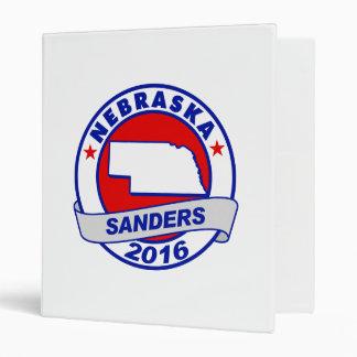 nebraska Sanders 2016.png Vinyl Binder