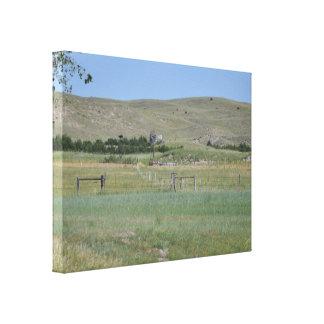 Nebraska Sandhills Wrapped Canvas
