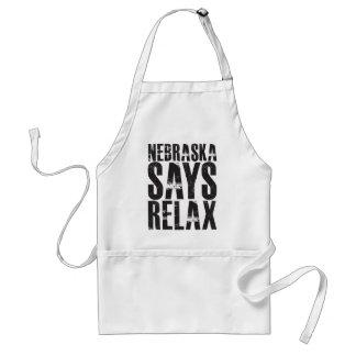 Nebraska Says Relax Adult Apron