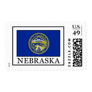 Nebraska Sello Postal