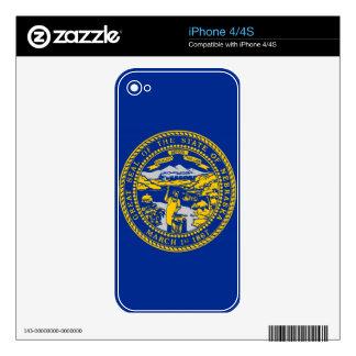 Nebraska Decals For iPhone 4S