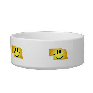 Nebraska Smiley Face Bowl