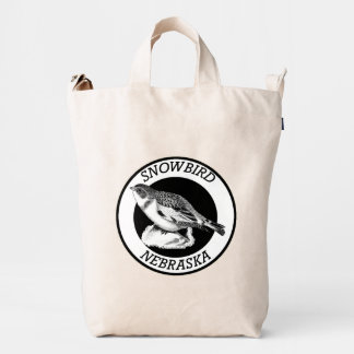 Nebraska Snowbird Duck Bag