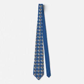 Nebraska Snowbird Neck Tie