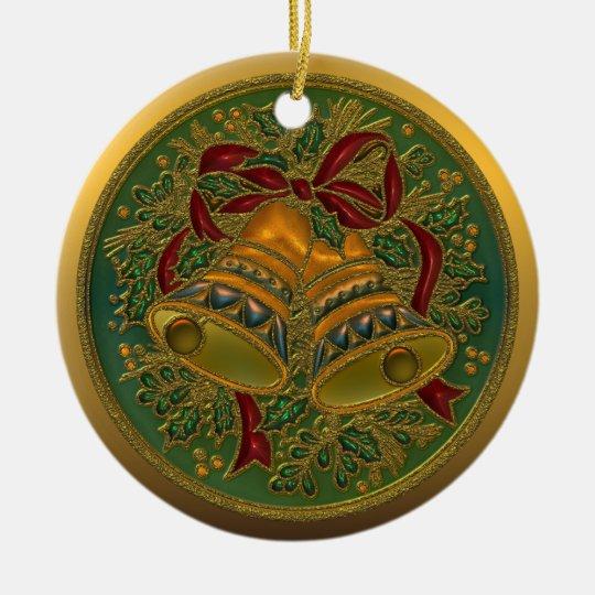 Nebraska State Christmas Ornament