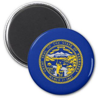 Nebraska State Flag Design Magnet