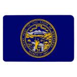 Nebraska State Flag Flexible Magnets