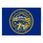Nebraska State Flag Greeting Card