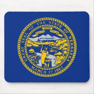 Nebraska State Flag Mouse Pad