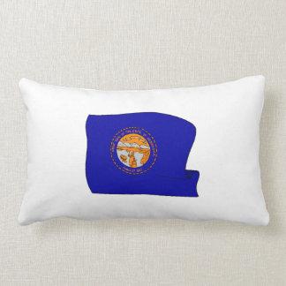 Nebraska State Flag Throw Pillows