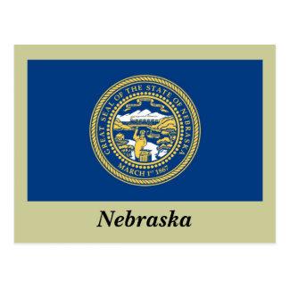 Nebraska State Flag Postcard