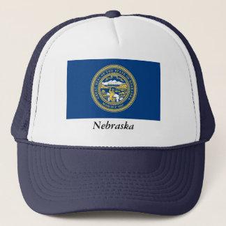 Nebraska State Flag Trucker Hat