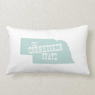 Nebraska State Motto Slogan Lumbar Pillow